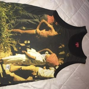 Supreme Shirts - SUPREME 13SS Kingston Tanktop - Black XL